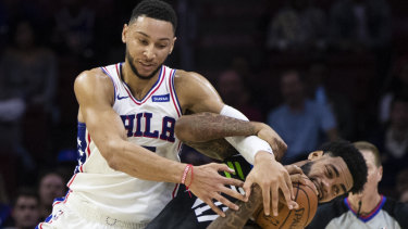 Ben Simmons is promising to have an explosive year for the Sixers.