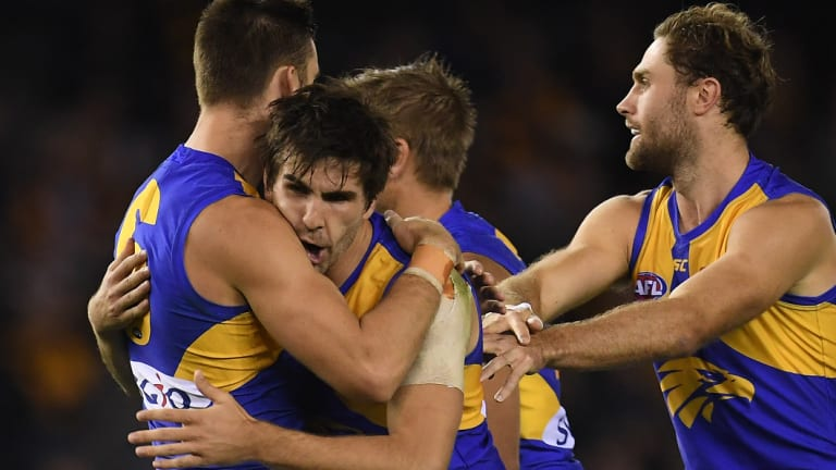 Ball magnet Andrew Gaff is in hot form for the Eagles at the right time.