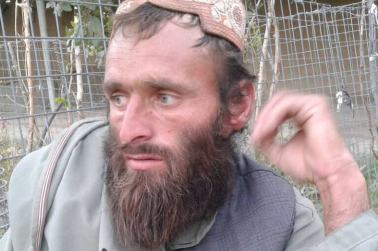 Abdul Mohammad, the brother of Ali Jan. His brother had gone to get flour and ended up dead, allegedly at the hands of Australian special forces.
