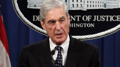 Robert Mueller breaks his silence on Russia probe in shock press conference