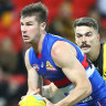 Bulldogs pair pay the price for Tiger mauling