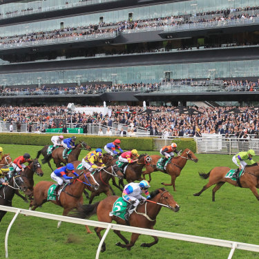While the Melbourne Cup remains Australia's premier thoroughbred race, Royal Randwick's The Everest (pictured) is trying hard to steal its thunder.