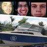 Doomed plan: Four would-be 'tinnie terrorists' jailed over sail plot