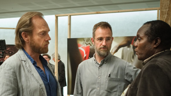From driving a garbage truck to starring opposite Hugo Weaving