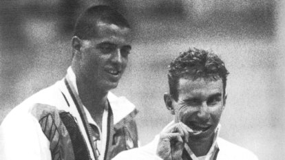 From the Archives: Armstrong catches a wave to gold