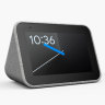 Lenovo's smart alarm clock is a discrete display for the bedroom