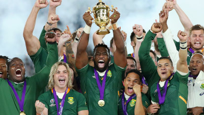 Habana in tears as significance of Kolisi lifting World Cup sinks in