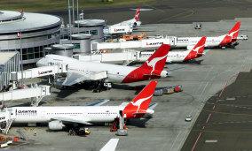 Qantas Terminal, Mascot.