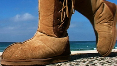 Australian icon, the ugg boot.