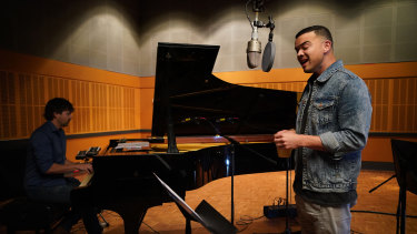 Guy Sebastian was pure magic in The Recording Studio, says Anthea White.