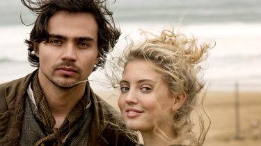 Tom York and Amelia Clarkson in Poldark