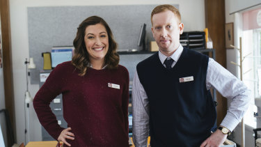 Celia Pacquola and Luke McGregor return as Emma and Daniel for a fourth season of their ABC comedy, Rosehaven.