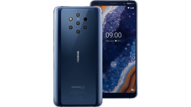 The Nokia 9 PureView has five rear cameras, six if you count the time of flight.