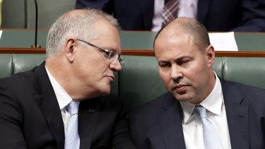 PM Scott Morrison and Treasurer Josh Frydenberg will put their full tax bill to Parliament.