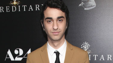 Alex Wolff at a screening of Hereditary.