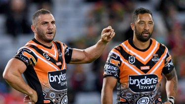 Robbie Farah and Benji Marshall have been pivotal for the Tigers this season ... again.