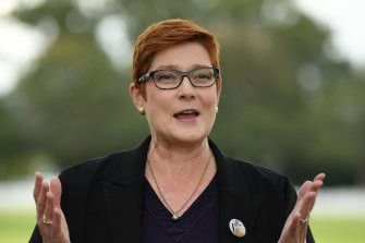 Australian Foreign Affairs Minister Marise Payne and her counterparts in Britain and Canada have protested Beijing's unprecedented intervention in Hong Kong.
