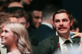 Daniher at the Crichton Medal ceremony.