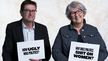 Former politicians Greg Combet and Cheryl Kernot on You Can't Ask That.