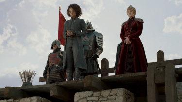When push comes to shove: Cersei prepares to send Missandei to her fate.