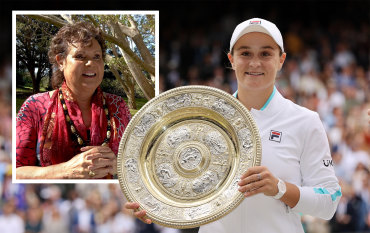 'Like a little sister': Goolagong Cawley lauds Barty after Wimbledon win