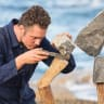 In the balance: Mysterious rock balancer Nick Steur comes to Melbourne