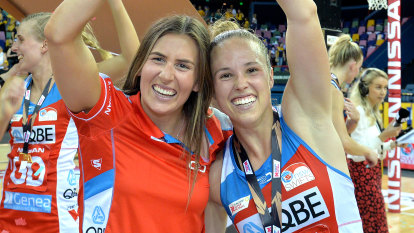 NSW Swifts fume after star duo left out of Diamonds playing squad