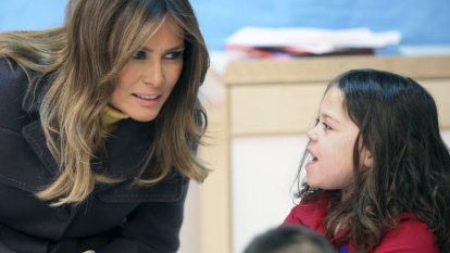 'You always need to be kind': Melania Trump's advice to kids on national tour