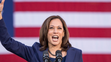 Senator Kamala Harris, a Democrat from California, during her own presidential run in 2019.