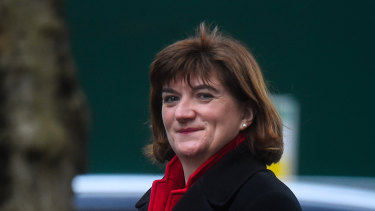 """We can now move forward and seize the huge opportunities"": Baroness Nicky Morgan Secretary of State for Culture, Media and Sport."