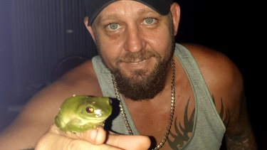 Top frogger Matt Laidlaw of Bees Creek, NT, has recorded about 1300 frogs.