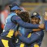 Sri Lanka beat Afghanistan despite slump