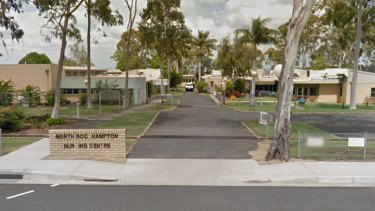 North Rockhampton Nursing Centre where a nurse tested positive for COVID-19 on Thursday night.