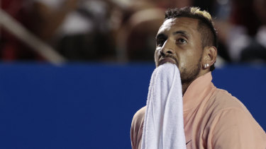 Nick Kyrgios has made his feelings known about plans for tennis tournaments during the COVID-19 pandemic.