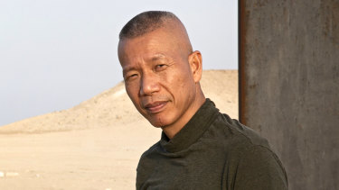 New York-based Chinese artist Cai Guo-Qiang