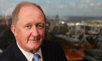2013 photo when Chris Lynch was appointed chief financial officer of Rio Tinto. He is now joining Westpac's board.