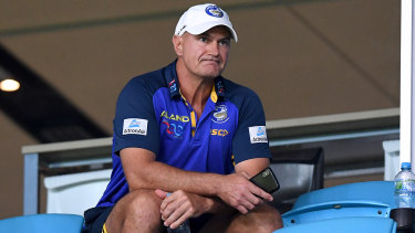 Eels coach Brad Arthur.