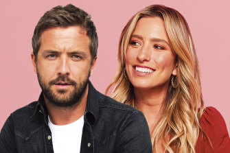 Darren McMullen and Renee Bargh are the new hosts of The Voice Australia.
