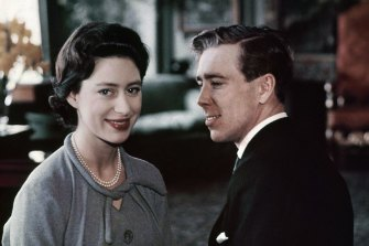 Princess Margaret and Antony Armstrong-Jones (Lord Snowdon) in February, 1960.