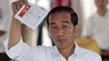Joko Widodo said the ruling confirmed that the election result reflected the will of the Indonesian people.