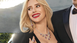 Emma Roberts, the niece of actress and Pretty Woman star Julia, is the face of Fred's new jewellery range.