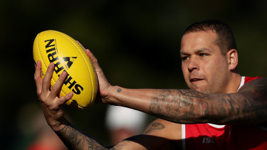 Lance Franklin remains a chance to return from injury this season.