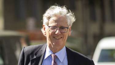 Seven executive Bruce McWilliam as he arrived at court this week.
