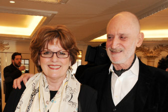 Brenda Blethyn and husband Michael Mayhew in 2013: 35 years together before taking the marital plunge.
