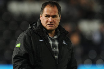 Wallabies coach Dave Rennie worked with du Plessis at Glasgow.