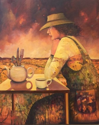 The Burnt Teapot by Penny Lovelock.