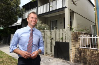 Planning Minister Rob Stokes is pushing for medium-density housing to meet growing demand for homes.