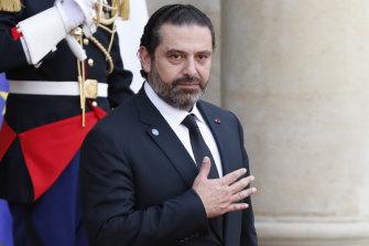 Lebanese Prime Minister Saad Hariri met the model on holiday.