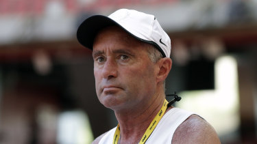 File photo from 2015 of disgraced athletics coach Alberto Salazar.