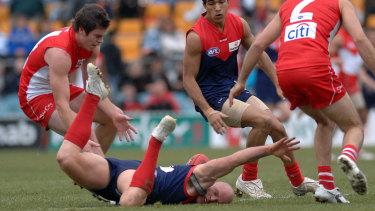 Melbourne met Sydney in Canberra in 2009 - the season in question.